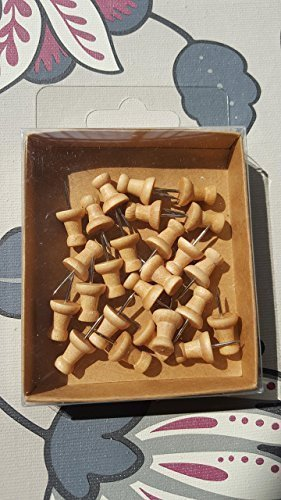 wooden-push-pins-a-pack-of-25-pins-natural-rustic-brown-wood-colour-novelty-decorative-wedding