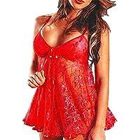 YARBAR Sexy Lingerie Sleepwear bamboletta bamboletta donne mini vestito di