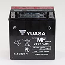 Batería 12 V 14 Ah ytx16 de BS, libre de mantenimiento Yuasa DIN 51492 para