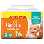 Pampers - Simply Dry - Couches Taille...