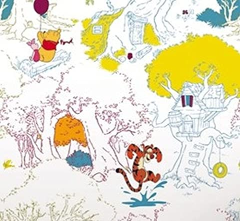 Winnie's Summer Stroll Wallpaper