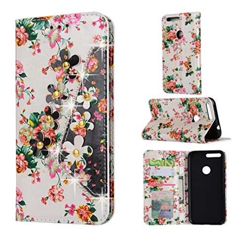 google-pixel-xl-wallet-stand-shell-shiny-fantastic-flowers-pu-leather-art-diamond-lid-cover-money-na