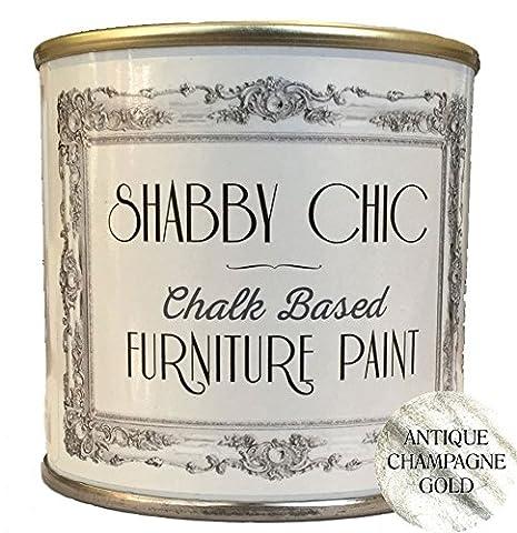 Antique Style shabby chic Champagne Craie Base Meubles Peinture Idéal