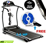 ABEXCEED­® FOLDING TREADMILL 3 LEVELS MANUAL INCLINE ELECTRIC FOLDING TREADMILL WITH MP3 INPUT AND BUILT-IN SPEAKERS LED DISPLAY RUNNING MACHINE MOTORISED TREADMILL 1.0 HP MOTOR WEIGHT LOSING MACHINE COMES WITH