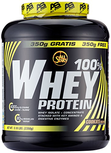 #All Stars 100% Whey Protein, Cookies-Cream, 1er Pack (1 x 2350 g)#