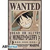 ABYstyle Abysse Corp_ABYDCO427 - Póster con Texto en inglés Wanted...