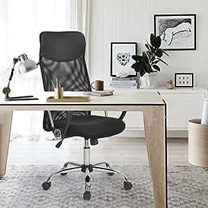 Bürostuhl ergonomisch höhenverstellbar  Amazon.de: Aingoo Bürostuhl Schreibtischstuhl Chefsessel mit ...