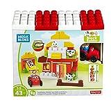 Mega Bloks Mattel DPJ57 Farm-Freunde, Bau und Konstruktionsspielzeug
