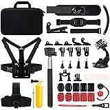 Victure Caméra Sport Accessoires Combo Kit de Sports de plein air pour Gopro Hero 5 4 3+ 3 2 1 SJ4000 SJ5000 SJ6000 APEMAN Caméra d'action