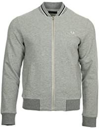 Fred Perry Bomber Neck Sweat, Veste Sport