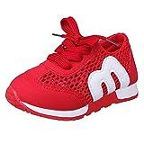 Zapatillas de Deporte de Exterior Running para Unisex Bebés Niños Niñas Otoño Invierno 2018 Moda PAOLIAN Casual Calzado Niñas Niños Antideslizante Zapatos de Primeros Pasos Suela Blanda