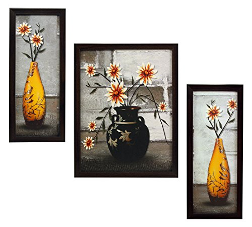 3 piece set of framed wall hanging art prints paintings 3 PIECE SET OF FRAMED WALL HANGING ART PRINTS PAINTINGS 51o3mBQmF2L