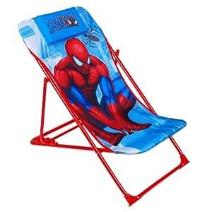 À Pour 3 Enfant Transat Spiderman Pliant De Ans 8 EDH2IW9