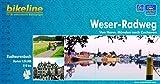 bikeline Radtourenbuch: Weser-Radweg - Von Hann - Münden nach Cuxhaven - 1:75.000 - GPS-Download, wetterfest/reißfest -
