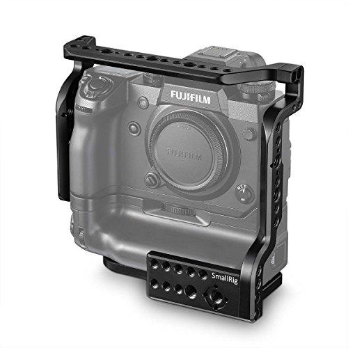 SMALLRIG X-H1 Cage für Fujifilm X-H1 mit Batteriegriff, mit Schutzschicht, Anti-Oxidations-, Anti-Korrosions-, Kratz-resistenten 2124