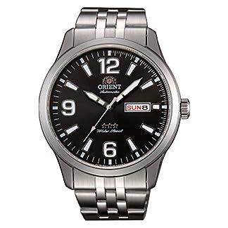 Orient Reloj Analógico para Hombre de Automático con Correa en Acero Inoxidable RA-AB0007B19B