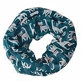 Tonsee® Les Femmes Belles Mixte Motif Couleur Voile Echarpes Châle Wrap Wraps Scarf (Bleu)