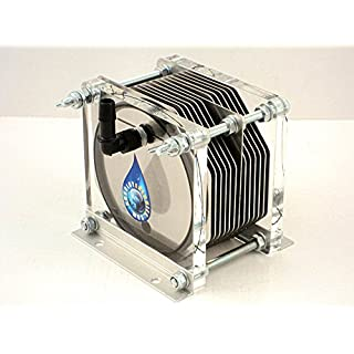 HHO GENERATOR BEC-1500 DRY CELL 13 PLATES 100% INOX HYDROGEN FUEL ECONOMY