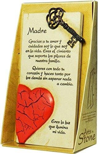 PERGAMINO DE PIEDRA LABRADA CON TEXTOS PARA OCASIONES ESPECIALES, IDEAL PARA REGALO ORIGINAL Y ECONÓMICO. ESPECIAL MADRE