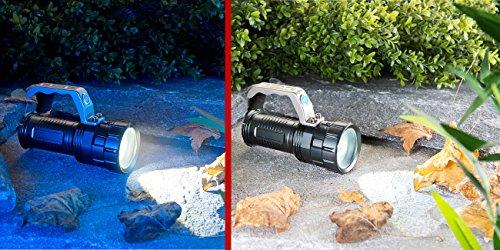 KryoLights Extrahelle Akku-LED-Handlampe TRC-410 CREE LED, 550lm, 10W, IP44 - 5