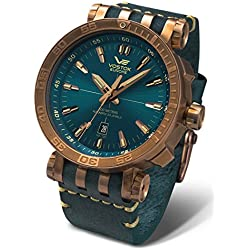 Vostok Europe Automatic Mens Watch Energia Rocket Bronze NH35A-575O286