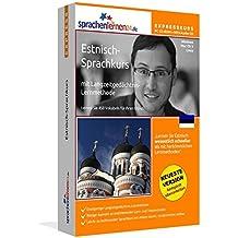 Estnisch-Expresskurs mit Langzeitgedächtnis-Lernmethode von Sprachenlernen24: Fit für die Reise nach Estland. Inkl. Reiseführer. PC CD-ROM + MP3-Audio-CD für Windows 10,8,7,Vista,XP/Linux/Mac OS X