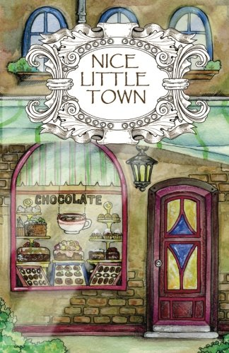 Adult Coloring Book: Nice Little Town par Tatiana Bogema (Stolova)