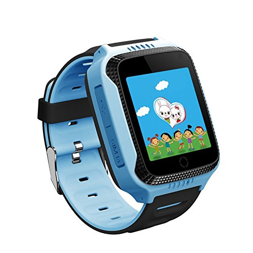 JaneDream Kids Smart Watch With Camera Flashlight 1.44 inch Touch Screen SOS Call GPS Tracker