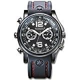 Technaxx Actionmaster Armbanduhr mit integrierter Kamera 4GB schwarz