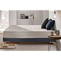 Naturalex - Matelas Deluxe 140 x 190 cm à mémoire de forme VISCOTEX® + Blue Latex® haute résilience 20 cm,à 7 zones de confort, EQUILIBRÉ