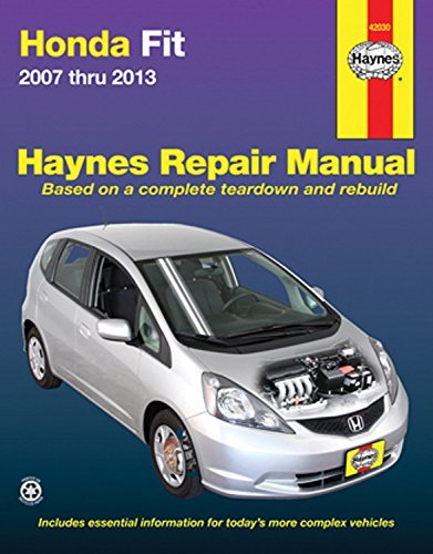 Honda Fit 2007 thru 2013 (Haynes Repair Manual) by Editors of Haynes Manuals (2016-03-01)