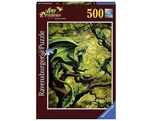 Ravensburger 00.014.789 Puzzle 500 Pieza(s) - Rompecabezas (Fantasía, Niños y Adultos, Dragon, Niño/niña, 10 año(s), 14 año(s))