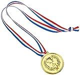 Glow2B Germany 5058055102 - Medallien, Mitgebsel - Kindergeburtstag - Party, 15 Stück