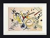 Vassily Kandinsky Poster De Collection Encadré - Composition, 1922 (40 x 30 cm)