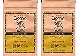 Radico Henna-Blattpulver 2er-Pack (2 x 100g) Lawsonia Inermis (bio, vegan) x2