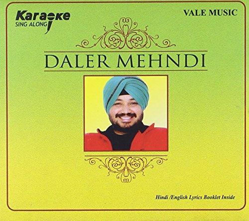 DALER MEHNDI KARAOKE CD (Lyrics Booklet in Hindi - English)