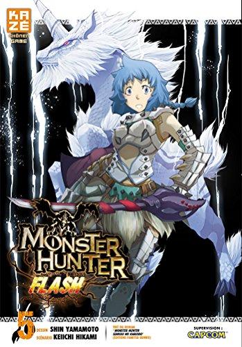 Monster Hunter Flash Vol.5 par HIKAMI Keiichi