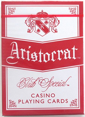 Aristocrat Club Special Casino Gold Playing Cards Sealed Deck Horseshoe Cleveland