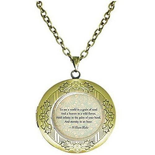 on Halskette, Persönlichen Schmuck für Gedicht, Lied, oder Text ()