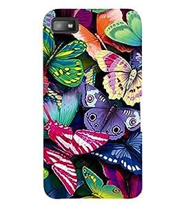 printtech Back Case Cover for BlackBerry Z10