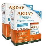 2 x 2 x 100ml Ardap Fogger Doppelpack Ungeziefer Vernebler für 2 Räume mit 30 m²