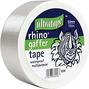 Cloth Gaffer Tape (Wasserdicht) 50mx50mm Weiß 1 Rolle / S