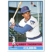 1976 Topps #26 Andy Thornton Chicago Cubs Baseball Card In a Protective Screwdown Display Case