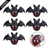 Ozuar 5PCS anti stress Cool Ball bat Shape spremere palla silicone Squishy Ball, ansia sollievo stress Releasing giocattolo per bambini e adulti (13× 9cm)