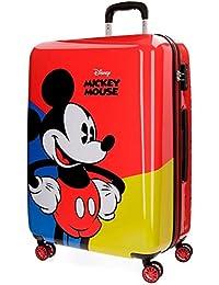 Disney Mickey Red Equipaje infantil, 69 cm, 75 litros, Rojo