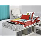 Cañete - Edredón ajustable BEETLE cama 90