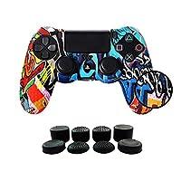 PS4 Funda para Cubrir el Mando de PS4 con 4 Gri...