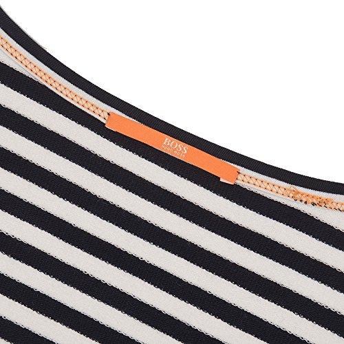 BOSS Orange - Sweat-shirt - Femme Schwarz/Weiß
