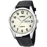 Lorus Lumibrite Dial Leather Strap - Herrenuhr - schwarz RJ647AX9