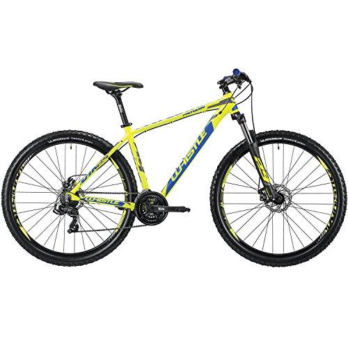Whistle Bici Patwin 1835 29' 7-Velocità taglia 48 giallo/blu 2018 (MTB Ammortizzate) / Bike Patwin 1835 29' 7-Speed size 48 yellow/blue 2018 (MTB Front suspension)